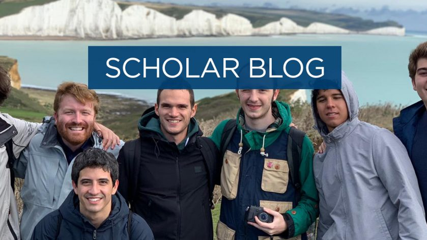 Scholar blog - best freshers event I attended