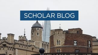 Scholar blog - first impressions of the UK