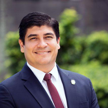 President Carlos Alvarado
