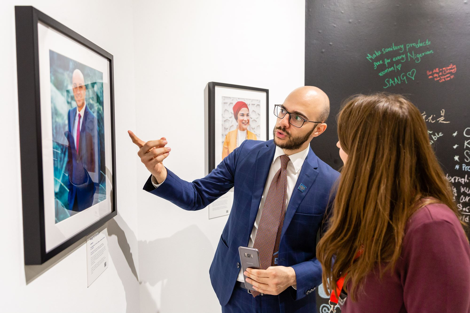 Hundreds attend Chevening anniversary photography exhibition