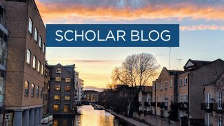 Scholar blog - a lovely UK sunrise or sunset - 1