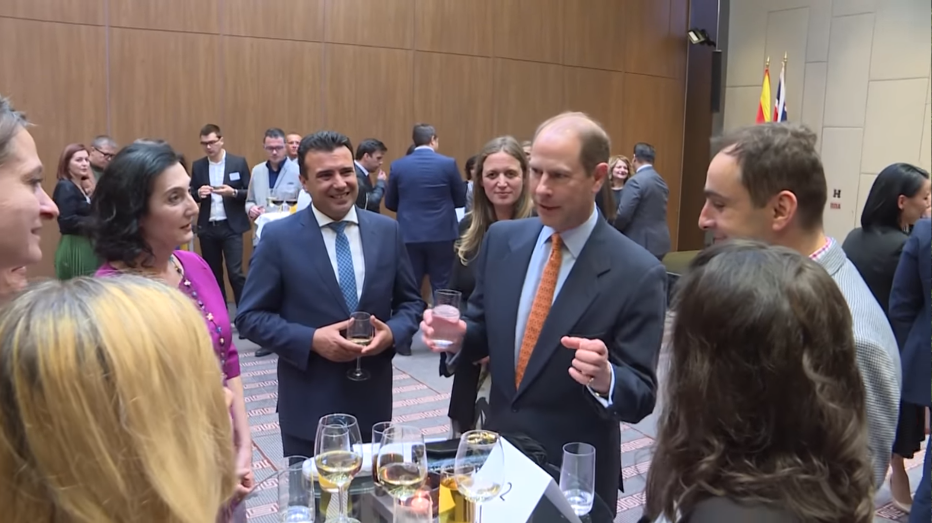 Alumni in North Macedonia showcase impact with HRH the Earl of Wessex