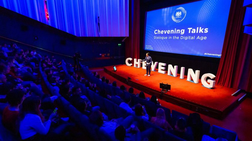 Dino Omar hosting Chevening Talks