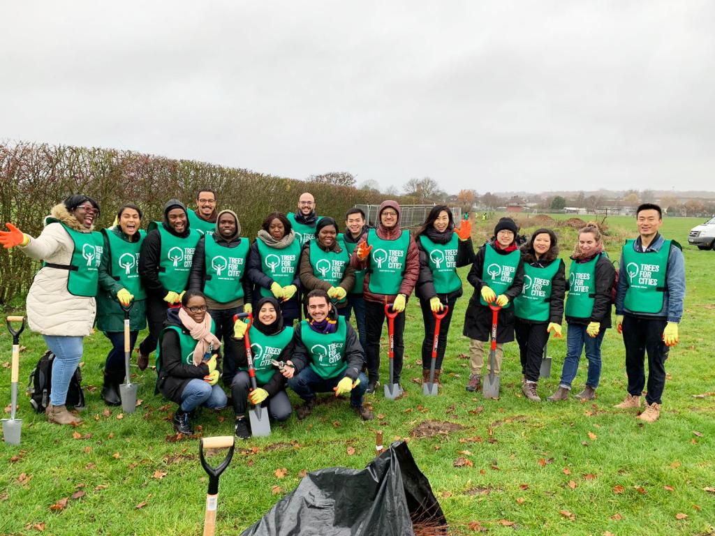Chevening Scholars break volunteering record