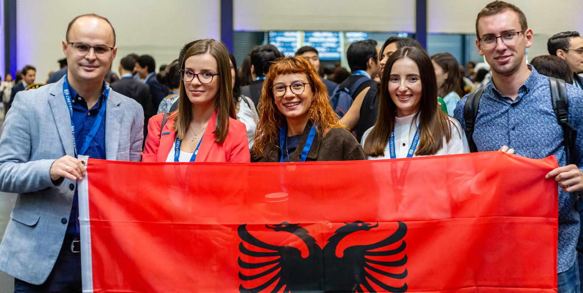 Chevening in Albania