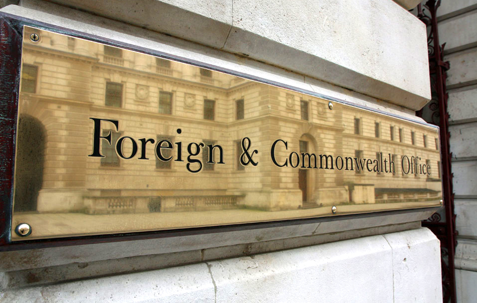 Foreign and Commonwealth Office (FCO) Sign