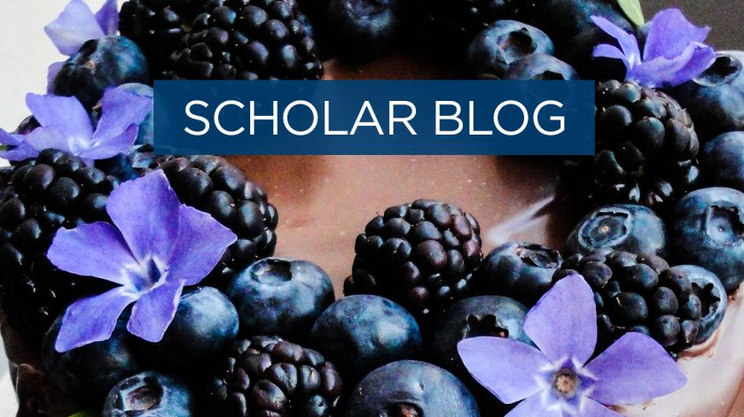 Scholar blog - things I've baked since being here