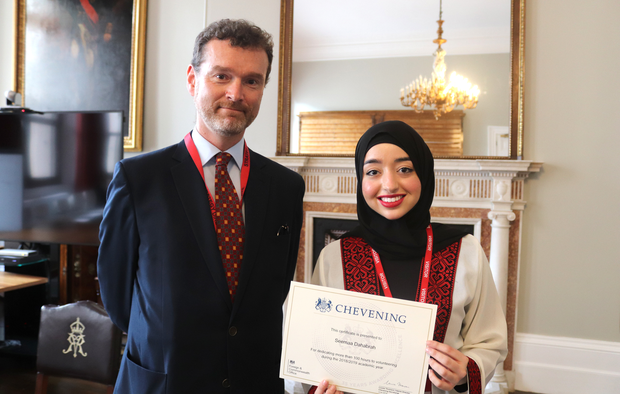 Chevening Scholars break volunteering record | Chevening