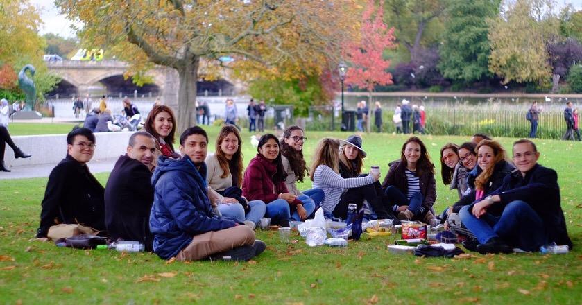 Scholars in London