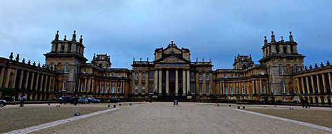 Beautiful' Blenheim Palace inspires scholars