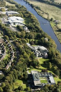 Aerial photo of Robert Gordon University