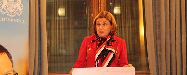 Mexico's attorney general addresses Chevening Scholars at FCO reception