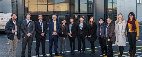 Malaysian scholars visit BAE Systems in Lancashire
