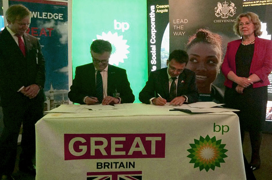 BP commits to up to eight new scholarships for Angolans