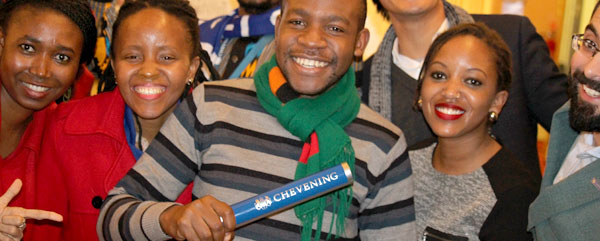 Chevening Relays launched simultaneously across UK