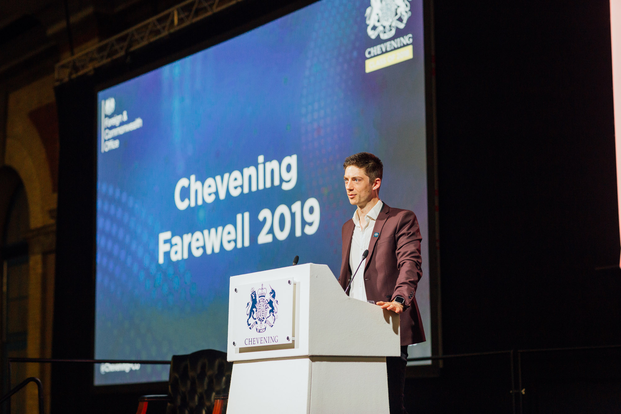 Farewell to Chevening