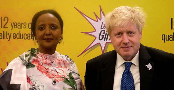 Foreign Secretary and Chevening Alumna join forces to lead girls' education initiative