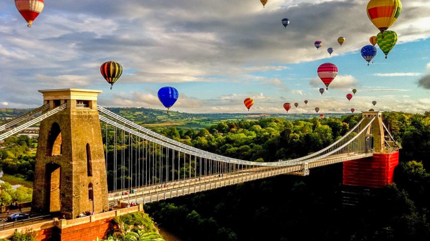 Bristol Balloon International Fiesta, Clifton