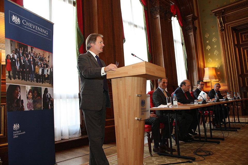 The Foreign and Commonwealth Office launch the Pacific Alliance Chevening Scholarships