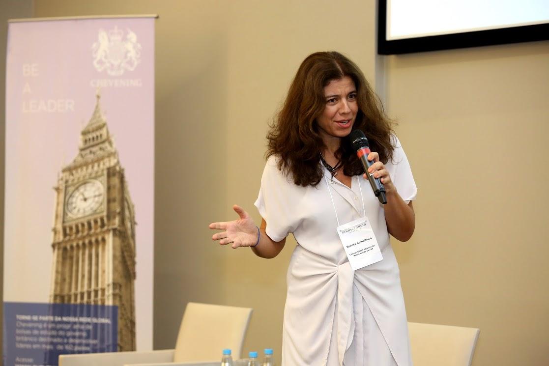 Renata Ramalhosa, Britain's Deputy Consul General in São Paulo