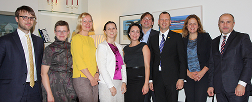 Chevening continues to have impact in Riga
