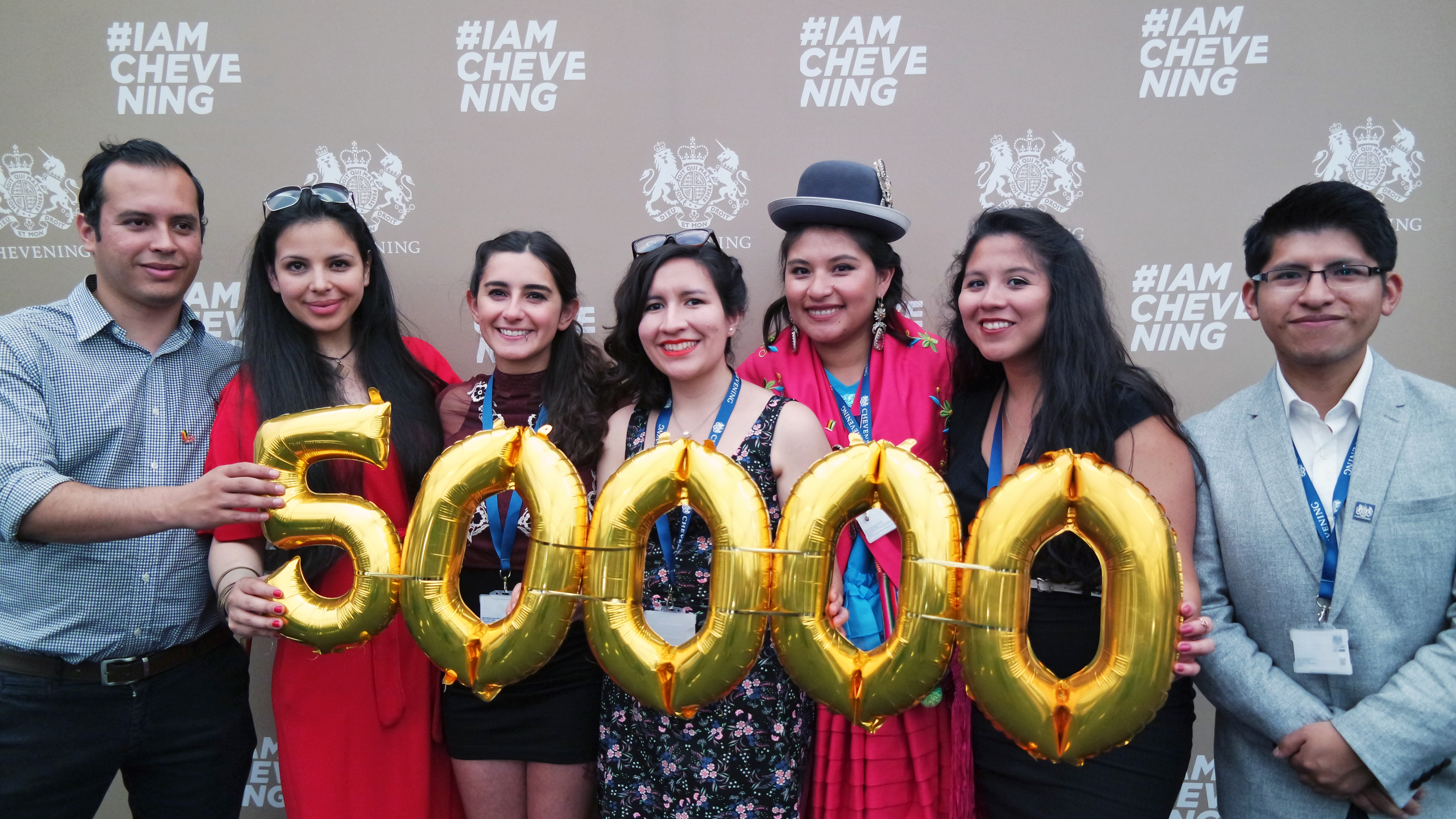 CHEVENING HITS 50,000 ALUMNI