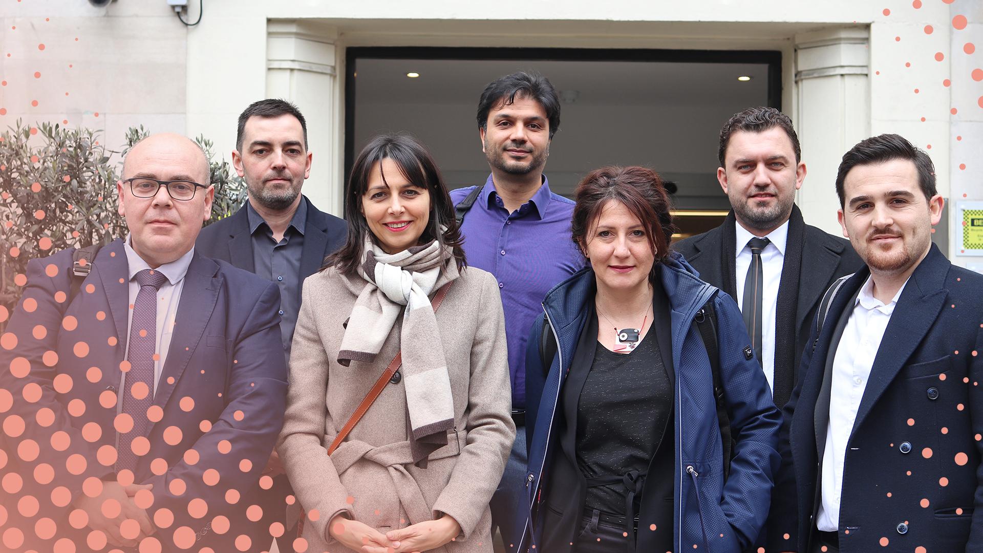 Meet our Chevening Western Balkans Cyber Security Fellows
