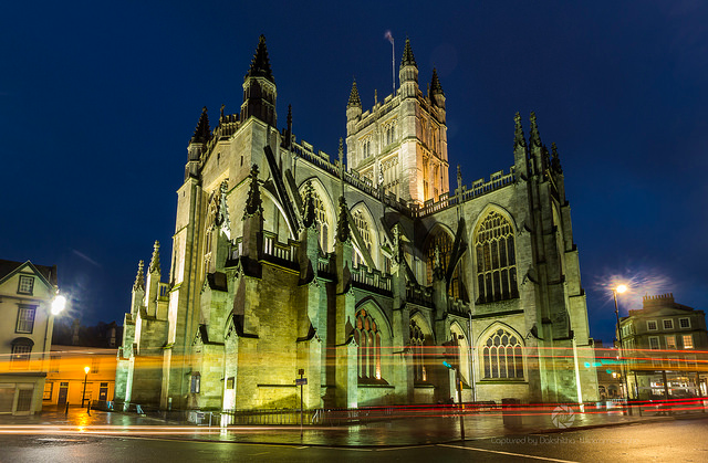 Bath Abbey by Dakshitha Wickramasinghe