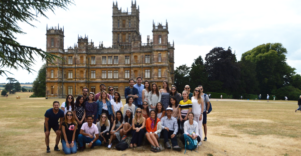 Lords and ladies of Chevening visit the real Downton