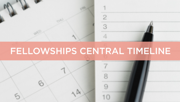 Chevening Fellowships central timeline