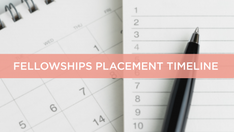 Chevening Fellowships placement timeline