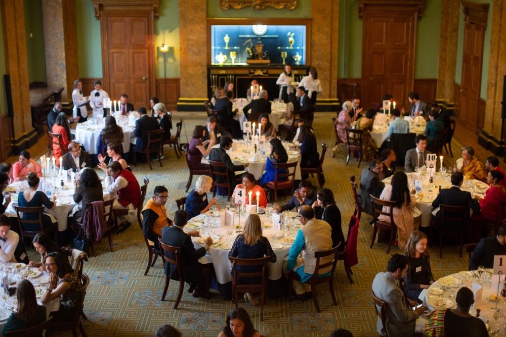 Annual Fellowships Dinner provides platform to 'share and challenge ideas'
