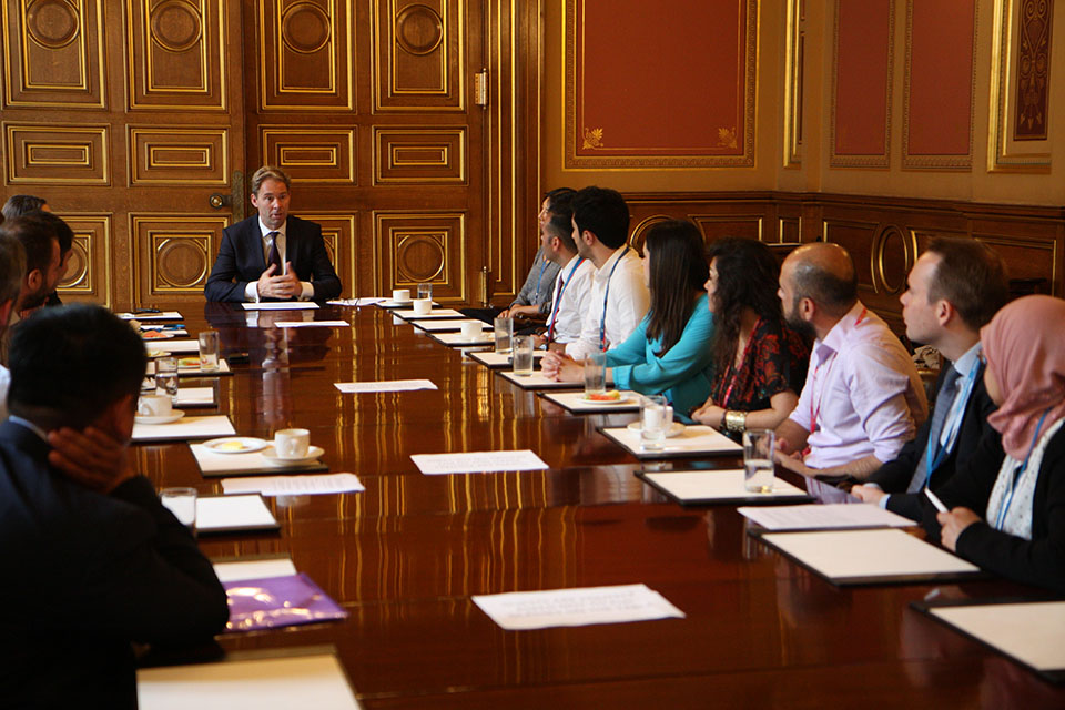 Levantine Scholars discuss foreign policy with the FCO