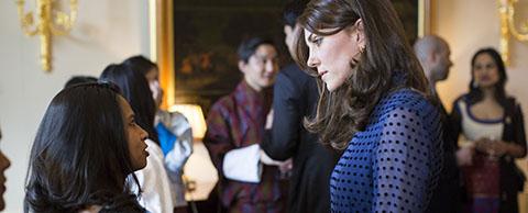 Royals seek advice from Chevening Scholars