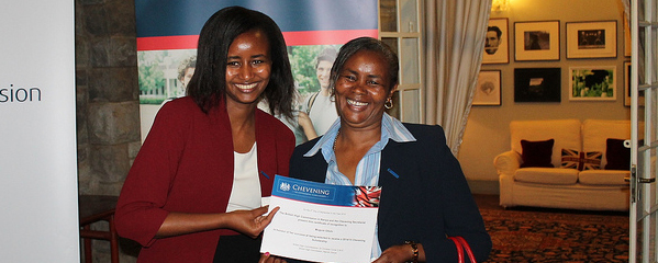 Chevening team in Kenya organise Open Day for applicants