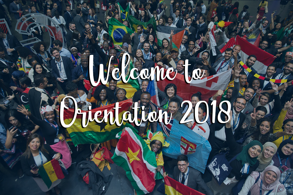 Welcome to Orientation 2018