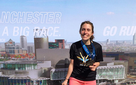 Marathon journey for Chevening's Mariela