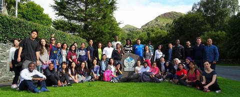 Scholars conquer Mount Snowdon