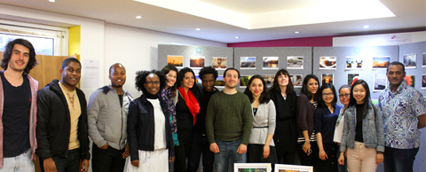Collective Chevening action for fundraising through a photographic exhibition