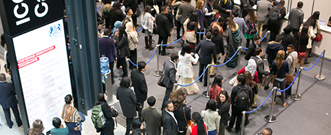 Chevening Scholars set world record for queueing