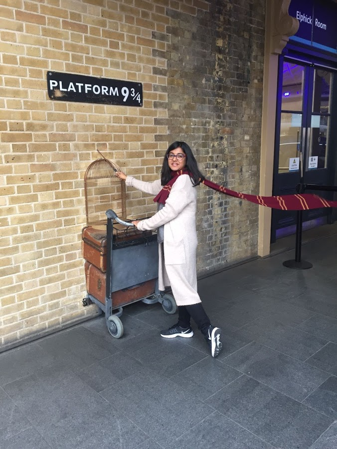 Ritwika and Harry Potter