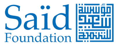 Said Foundation logo