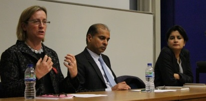 Shami Chakrabarti gives unique talk to Chevening Gurukul Fellows