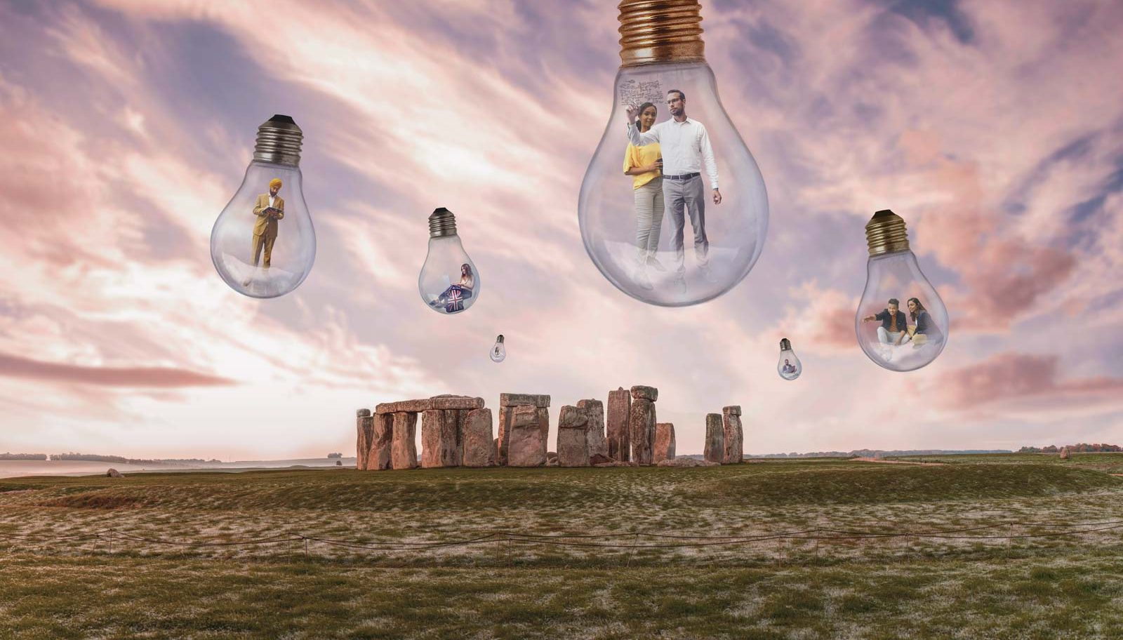 Chevening Scholars inspired by Stonehenge