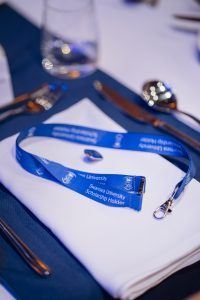 Swansea University lanyard