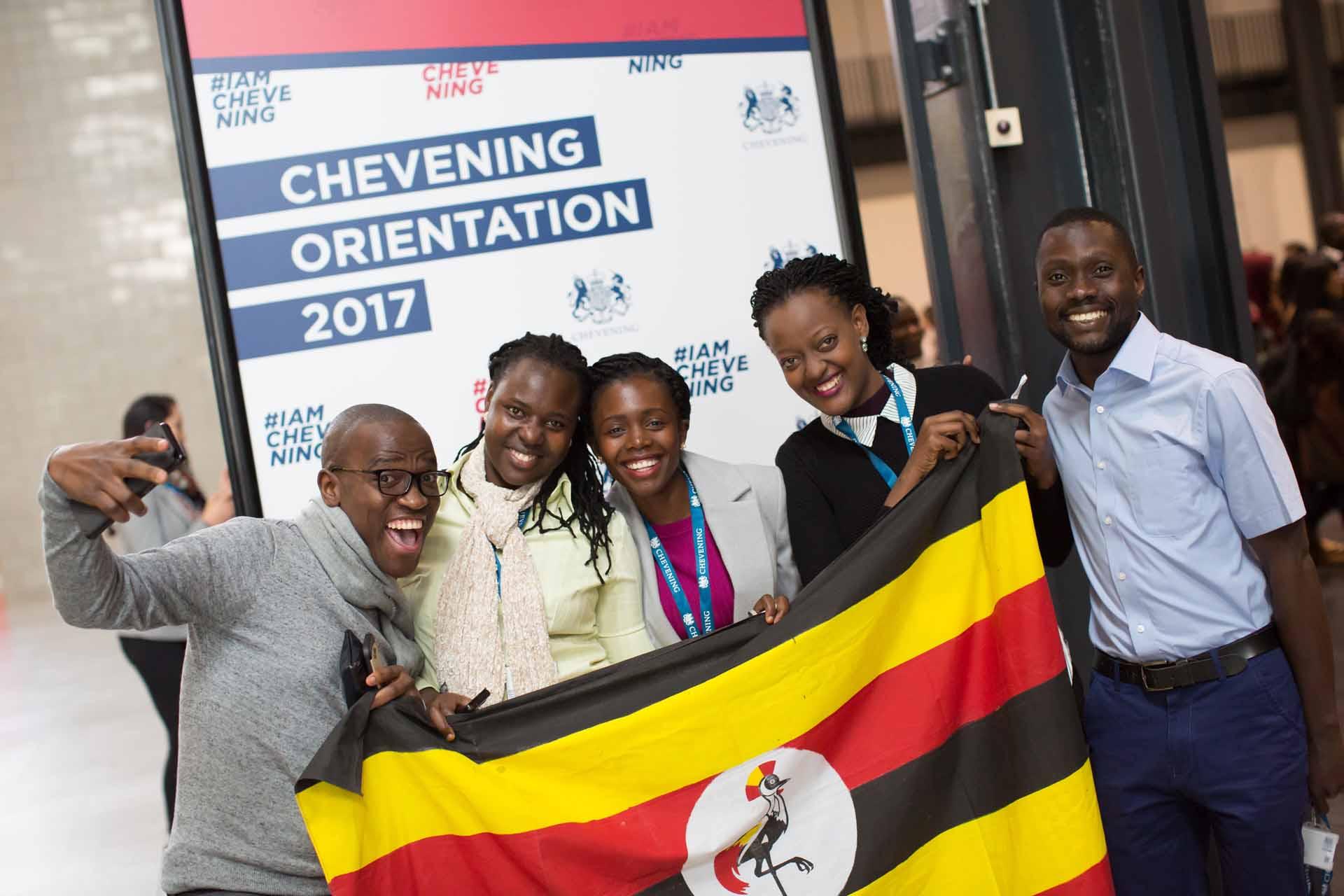 Chevening in Uganda