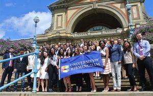 University of Birmingham Chevening scholars