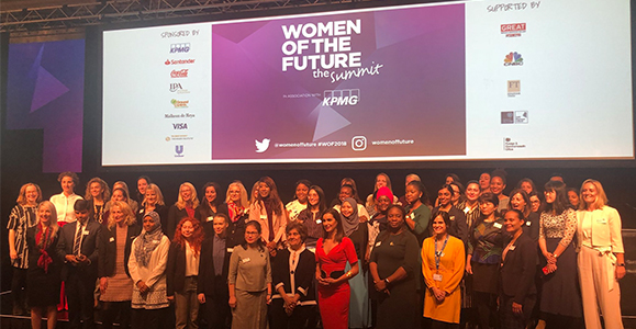 Cheveners inspired by leadership model 'based on trust' at Women of the Future Summit