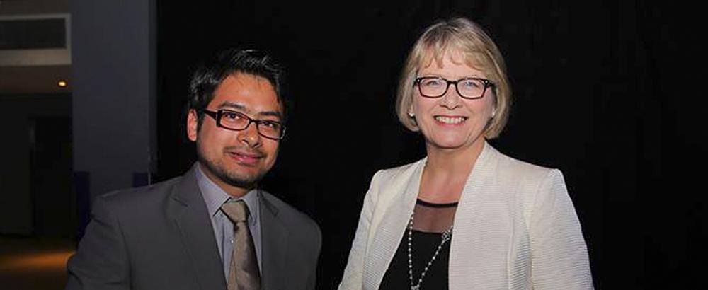 Scholar wins Cardiff University Student Union award