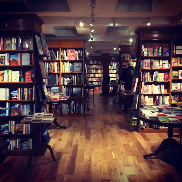Abdulla visits the famous Daunt Books in Marylebone in London